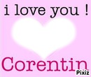 I love you Corentin