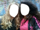 Visage 2 filles