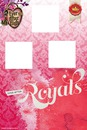 Capa ever after high royal