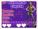 Credencial Tinista! Muy Original!