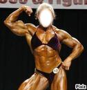 Lady bodybuilder