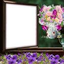 Cadre fleurs