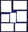 Leopard Bleu