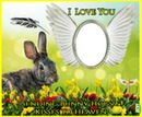 easter bunny hugs n kisses