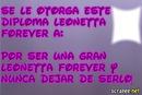 Diploma Leonetta De Violetta