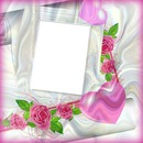 cadre roses*