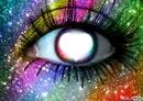 Oeil pailleté