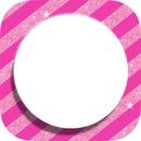 pink round