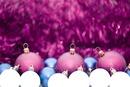 6 christmas balls family