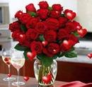 le verre de la St Valentin