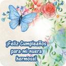 Rosas y flores de cumpleaños