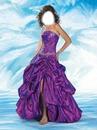 robe violet