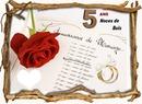 anniversaire de mariage 5 ans