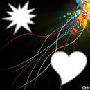 Light from a heart