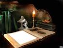 الشمعة والكتاب
