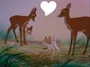 bambi, Féline et leurs mamans