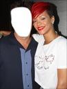 Photo avec Rihanna
