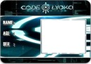 Code Lyoko ID Card