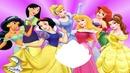 Les 7 Princesses + Feuille Centrale