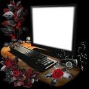 ordinateur 1 cadre