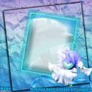 Cadre avec iris