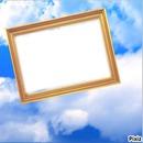 cadre dans les nuages