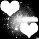 coeur qui brille