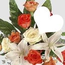 Mi corazon con rosas