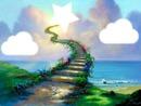 Escalier vers l'étoile