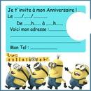 invitation minion