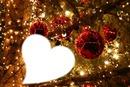Noël boules et coeur