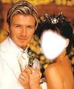 Mariée à David Beckham