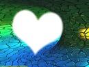 Herz - abstrakter Hintergrund