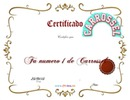 Certificado Carrossel