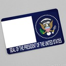 Seal of the President of the United States card