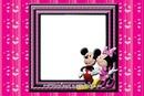 Mickey e Minnie Moldura para Meninas