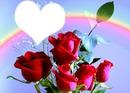 Coeur et roses