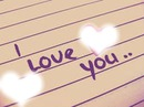 i love you ( je t'aime)