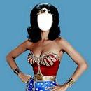 """Linda Carter """"Wonder Woman's Face"""""""