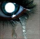 Quand tu pleure on voit pour qui tu pleure dans ton oeil