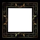 cadre noiree