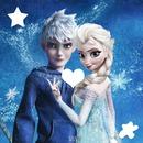 Elsa e Jack Frost um casal perfeito