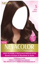 Nevacolor Saç Boyası 5 açık kahve
