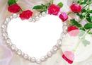 coração e rosas
