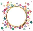 Cc círculo de estrellas
