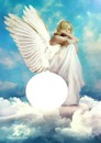 clouds angel