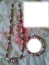 Collier bracelet rose gothika cadre