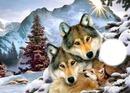 loups noel