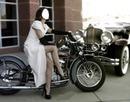 femmes a la moto