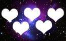 Galaxie 5 coeurs